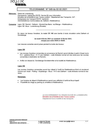 049_2021_CR148 Dalheim - Gondelange