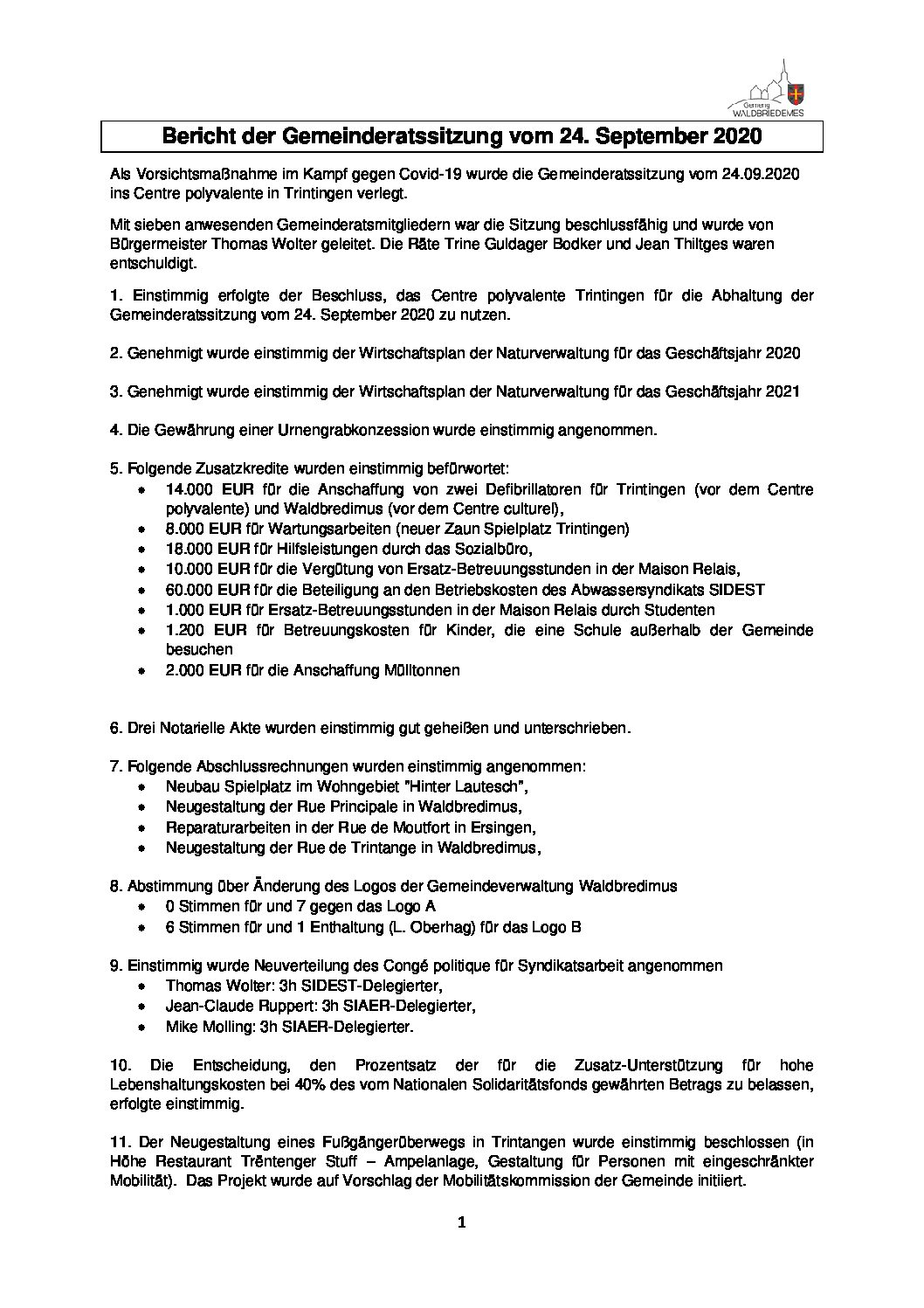 240920 DE Gemeinderatsbericht